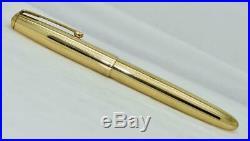 Vintage PARKER 51 Signet Fountain Pen 14K Gold Filled Cap and Barrel