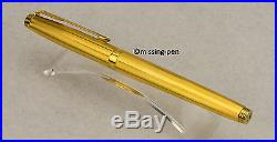 Vintage PARKER 75 Golplated FOUNTAIN PEN with M-nib