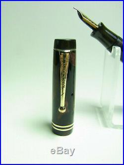 Vintage PARKER DUOFOLD Streamline fountain pen flexy B nib Freshly serviced