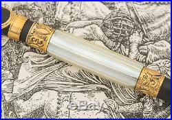 Vintage Parker 15 Pearl Repousse Overlay Fountain Pen Stunning