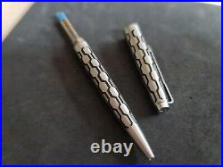 Vintage Parker 45 80 Harlequin Hexagon Ballpoint Pen Impossible Mint