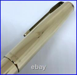 Vintage Parker 51 Aerometric Gold Filled Fountain Pen