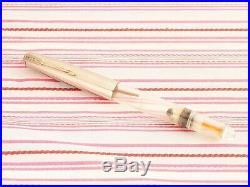 Vintage Parker 51 Demonstrator Transparent Vacumatic Diamond Fountain Pen Rare
