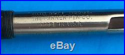 Vintage Parker 51 Flighter Stainless Steel Fountain Pen and Pencil Boxed Set