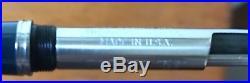 Vintage Parker 51 Fountain Pen Cedar Blue Silver Aerometric Filler with Box 1950s