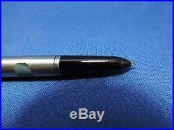 Vintage Parker 51 Fountain Pen & Pencil Set/Silver & Gold tone
