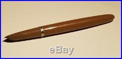 Vintage Parker 51 Pen Silver & Brown Pen