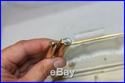 Vintage Parker 51 SIGNET Fountain Pen 1/10 14K Gold Filled in Box 14K Fine nib