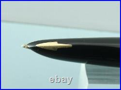 Vintage Parker 61 Cirrus Rolled Gold Fountain Pen, GT, Box, Filler, 1975 Nr MINT