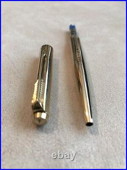Vintage Parker 65 Gold Plated Ballpoint Pen-boots Centenary-immaculate