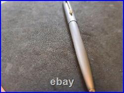 Vintage Parker 75 Pen Ballpoint Titanium Very Rare
