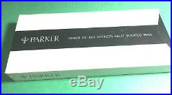 Vintage Parker 75 Stainless Steel Flighter Fountain Pen 1970's New Old Stock