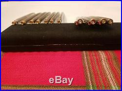Vintage Parker 75 Sterling Silver Ballpoint Pens USA & FRANCE READ DESCRIPTION