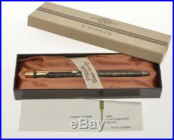 Vintage Parker Classic 6-527-3 Jotter Sterling silver BP new old stock in box