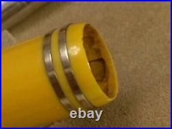 Vintage Parker Duofold Jr. Fountain Pen Mandarin Yellow