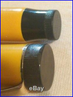 Vintage Parker Duofold Sr Senior Mandarin Yellow Fountain Pen Yellow Threads