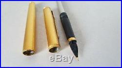Vintage Parker Premier Grain d'orge Barley Fountain Pen NOS! (S240)