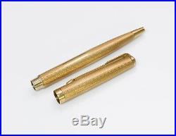 Vintage Parker Presidential 61 Solid Gold 18K Ball Pen