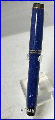 Vintage Parker Streamline Duofold Senior Fountain Pen LAPIS Perfect color NM