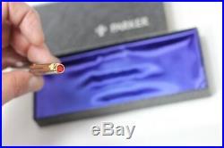 Vintage Parker T-1 75 Ballpoint Pen TITANIUM Boxed Minty