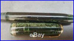 Vintage Parker Vacumatic Emerald Green Oversize Fountain Pen (CL281)
