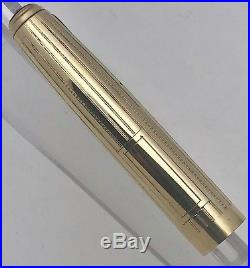 Vintage Parker Vacumatic Imperial Full Size Fountain Pen Cap Only 14k Gf Nm