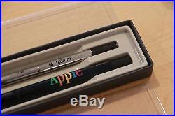 Vintage Set of Apple Computer Inc. Parker Pens NEW old Stock