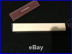 Vintage Sterling Silver, NL Cisele Parker 75 Ball Point Pen, c1970, NOS