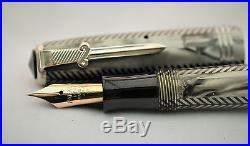 Vintage Superb PARKER ROYAL CHALLENGER Fountain Pen Sword Clip -1938