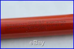 Vintage Superb PARKER SENIOR DUOFOLD LUCKY CURVE Fountain Pen C1927 USA