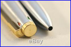 Vintage (c1970) Parker 45 Flighter DeLuxe 4-Colour Ballpoint Pen, GT