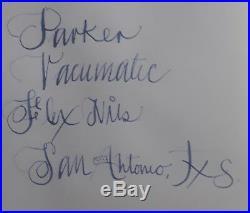 Vintage parker vacumatic fountain pen 5 1/4 long