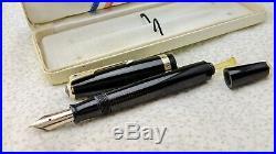 Vintage restored Parker Vacumatic Fountain Pen in Box-14K-Fine
